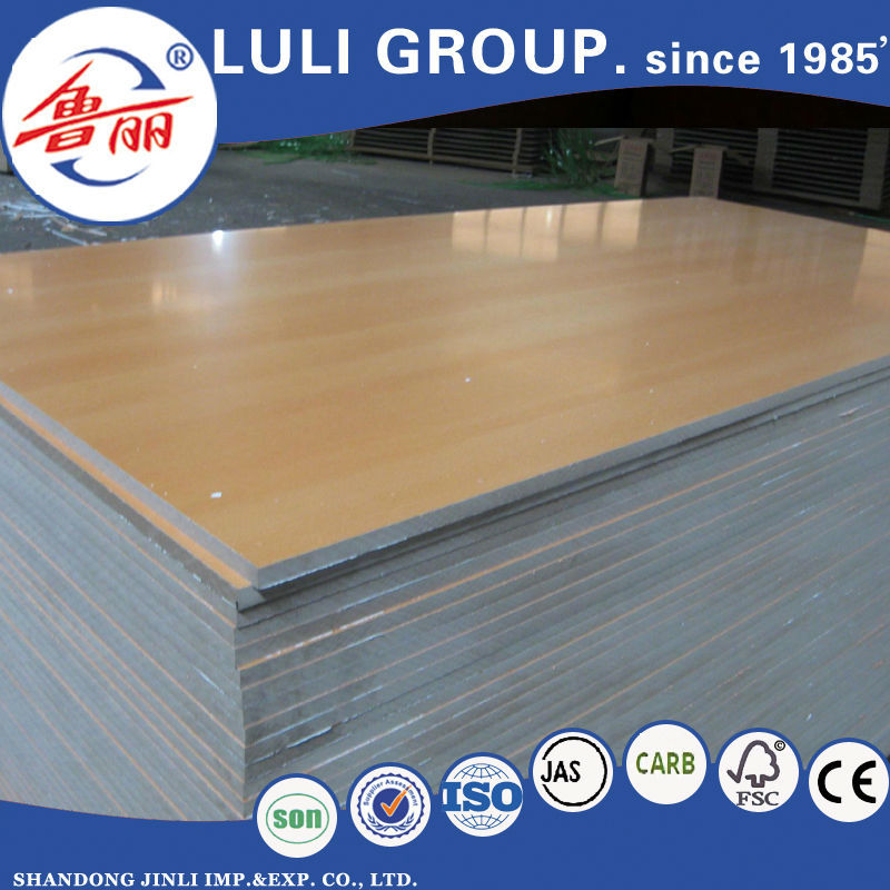 Hot sell 2.0--30mm E1 E2 E0 Melamine Mdf