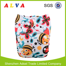 Alvababy New Pattern Eco-friendly Baby Diapers Free Shipping Cloth Diaper Factory
