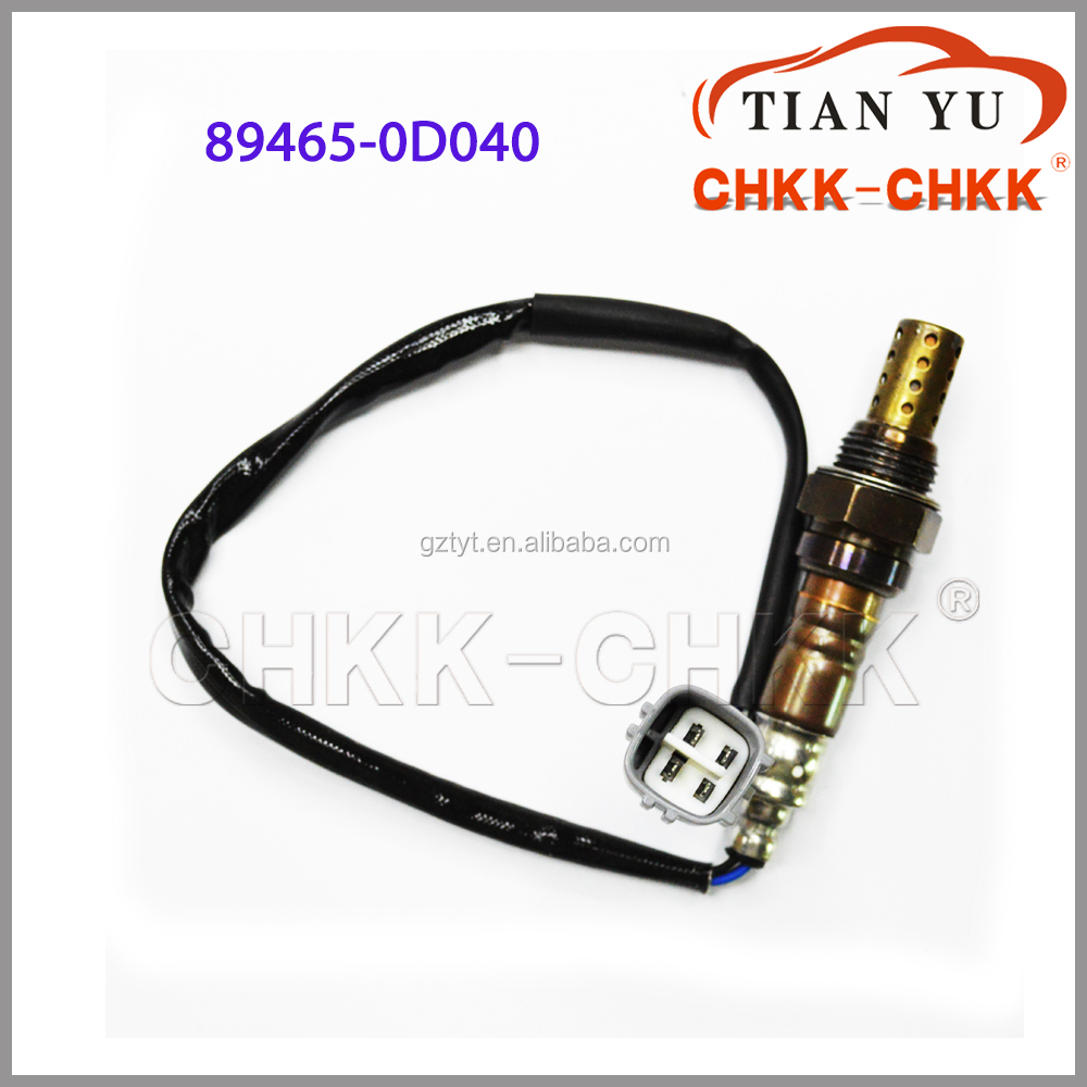 for japan car OEM 89465-0D040 factory <strong>price</strong> <strong>o2</strong> oxygen sensor