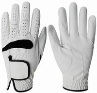 Golf glove made of pu leather sythetic glove with custom logo