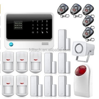 OLED word menu / RFID keypad wireless home WIFI+GSM alarm system home security alarm system APP on mobil-phone control