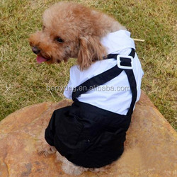 Wholesale china manufacturer dog apparels dog overalls suit