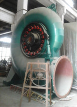 Vertical francis turbine for hydroelectric power plant 100m head, hydro turbine equipment, water turbine generator unit