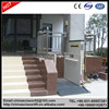 1.5m Outdoor wheelchair Lifting Elevator without cabin