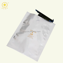 Ziplock laminated multiple layer plastic vacuum reusable aluminum foil bag