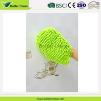 good quality color optional chenille microfiber car wash mitt