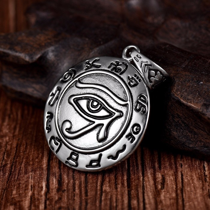 Longqueen Good Design Custom Fitted 316l Casting Harley Style European Design Evil Eye Charm Connector