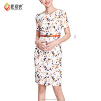 Best Dress For Farewell Party print chiffon Women daily Dress
