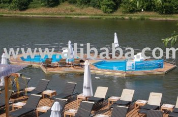 Mobideep the floating pool buy swimming pool product on for Floating swimming pool paris