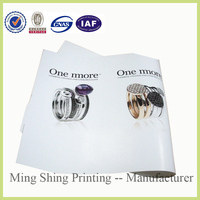 Manufactures sales OEM service cheaper flyer printing in advanced machine