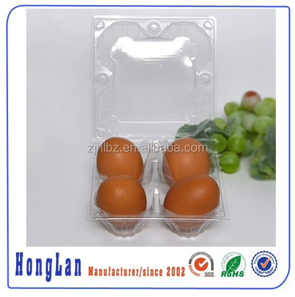 wholesale high quality 4/10 holes blister package egg tray/egg carton/ egg box