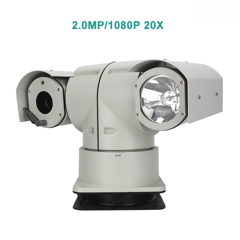 Xenon 1080P HD 20X Optical Zoom IP/SDI/AHD/Analog Car PTZ Camera