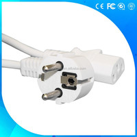 16a 250v 3 pin VDE European standard ac power cord
