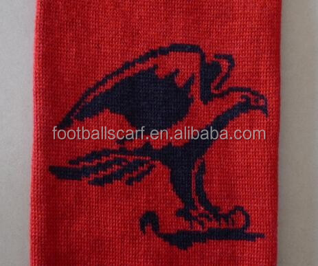 Australian Handball Clubs Customized Designs Double Sides Knitting Jacquard Handball Scarf