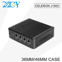 XCY mini pc x86 Celeron J1900 4 rj45 connector 2g ram 32g ssd with 150M WIFI TV Box fanless Tablet computer