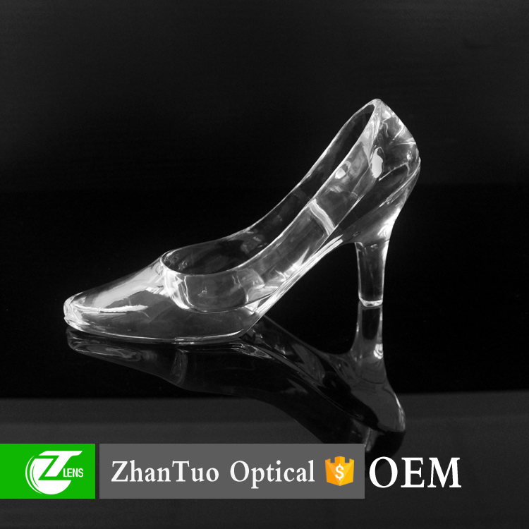 Wholesale acrylic decorative high-heel shoe acrylic craft for home decoration