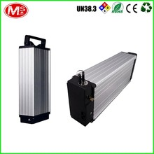 Safe shipping super flat and rechargeable lithium ion battery for electric bike