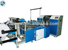 Plastic bags machine maker with PLC Touch Screen Control