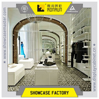 European design clothes shop decoration clothes shop display furniture display counter for sales
