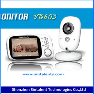 2.4GHz Wireless Digital LCD Color Audio Baby monitor,Temperature Display