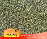 Dried Savory leaves cut, powder Satureja hortensis - spices importers