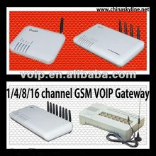 hot sell 1/4/8/16 port gsm voip gateway call terminal center data communication equipment