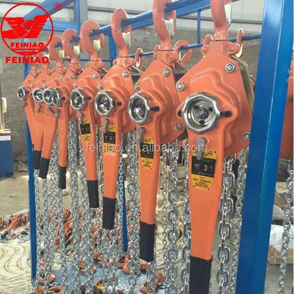 China série HSH 1.5ton, 6 m alavanca de elevação talha, puxe elevador talha