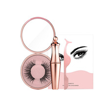 Latest Private Label Magnet Eyelashes Waterproof Liquid Magnetic Eyeliner With Tweezer Set For Personal Use