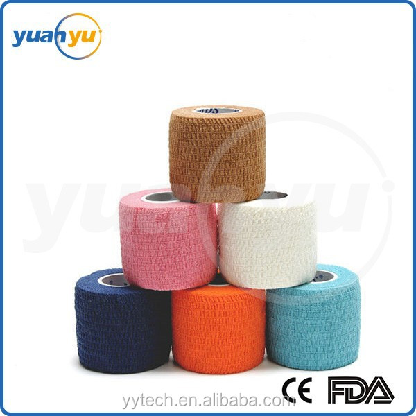 CE/FDA Certification Newest customize waterproof adhesive bandage fabric