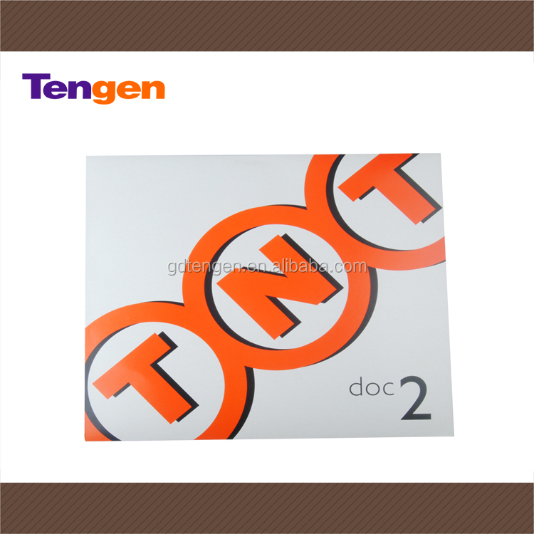 Color printing TNT cardboard packgaing envelope for courier companies En149