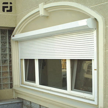 High Quality European Cold & Heat Insulation Windproof Aluminum Outdoor Roller Shutters