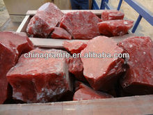 red glass rocks aggregate
