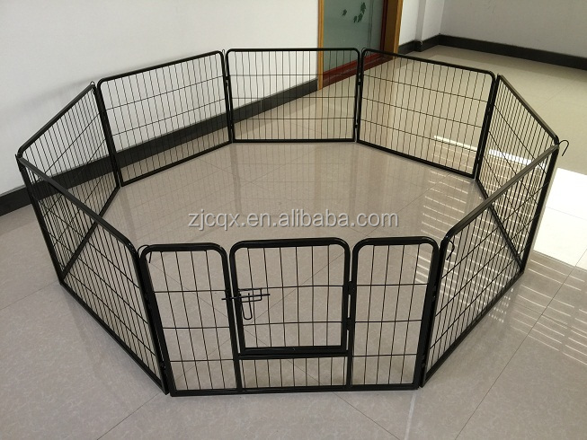 Hot Outdoor Folding Metal Wire Steel Pet Dog Playpen Fence Enclosure