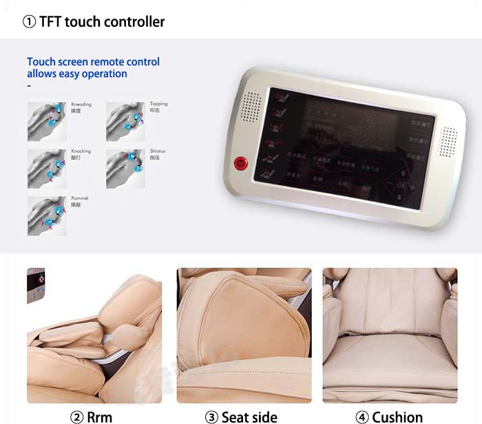 elite massage chair /full body massage chair /body care massager DLK-H020