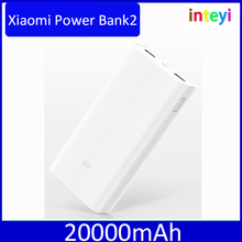 Original Xiaomi Power Bank2 20000mAh Portable Charger Dual USB Mi Powerbank External Battery Pack for phones 20000mAh Mi Bank