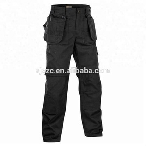 Wholesale flame resistant safety working trousers with kneepads
