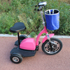 three wheel 48v 22ah battery power electric cargo scooter