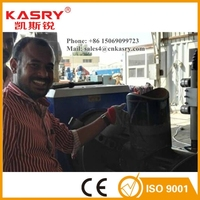 KASRY CNC Steel Bar Cutting And Bending Machine / Plasma Cutter Showing On Steel Fab 2016