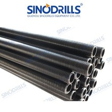SINODRILLS T thread hollow anchor bar for Mining, Slope stabilization, Tunneling