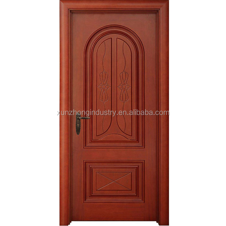 Fairy door garden wood frame door polish design