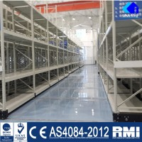 China Car Storage Electric Mobile Racking