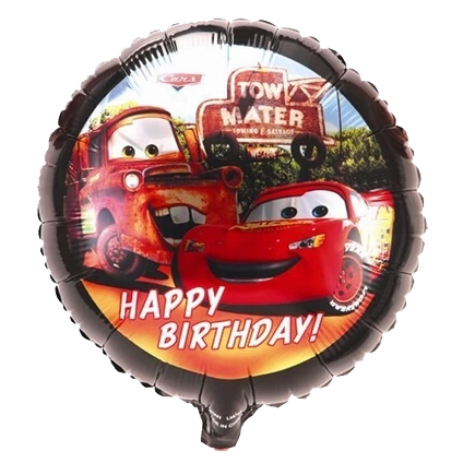 18inch Car Balloon for Kids Toys Helium Foil Balloons,Happy Birthday,Cartoon Balloon