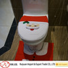 environment-friendly,washable soft toilet seat cover for Christmas decoration