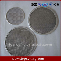 High quality low price High temperature 304 stainless steel coffee filter wire mesh