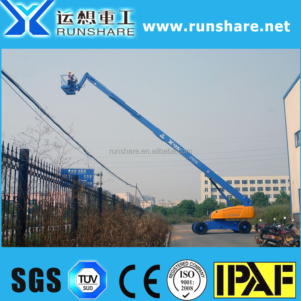 china top quality factory best price 38m diesel skylift