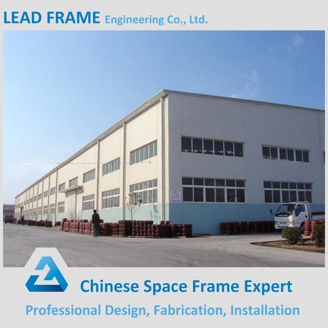 High Standard Lightweight Steel Industrial Prefab House