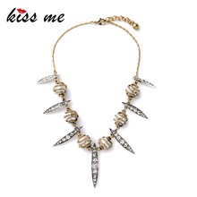 Valentine's Day Hot Sale Pearl Crystal Ball Leaves Pendants Collar Necklace