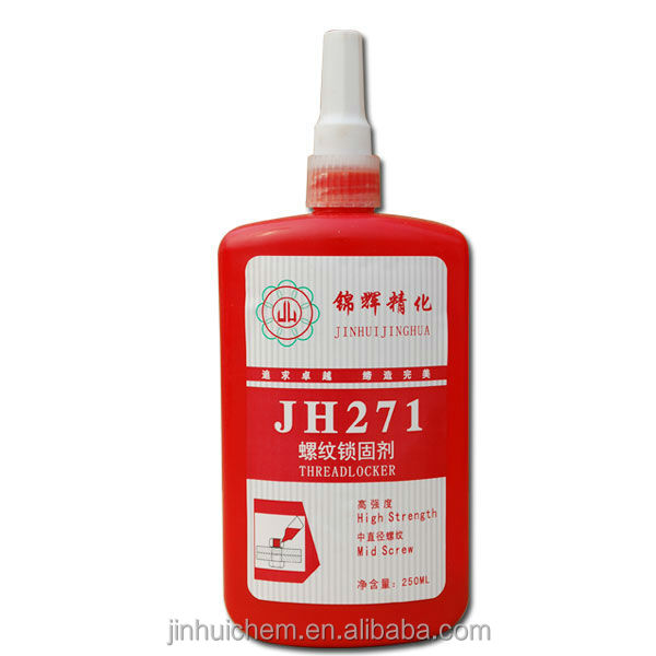 Anaerobic adhesive ThreadlockerJH271 JINHUI Threadlocker 271 General purpose Threadlocker 271