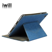 Special fiber design leather case cover for ipad 2/ipad 3/ipad 4