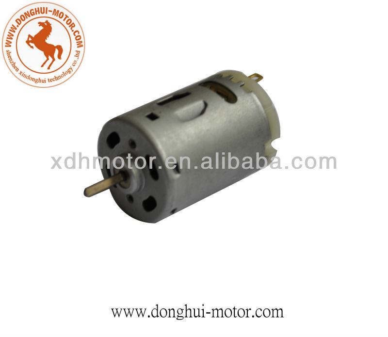 Automotive dc motor for damper actuator odometer